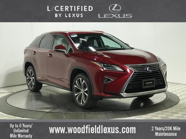 Pre Owned Lexus >> Certified Pre Owned 2016 Lexus Rx 450h Awd Awd 4dr Suv