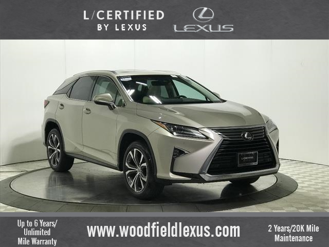 Pre Owned Lexus >> Certified Pre Owned 2016 Lexus Rx 350 Trim Awd Awd 4dr Suv