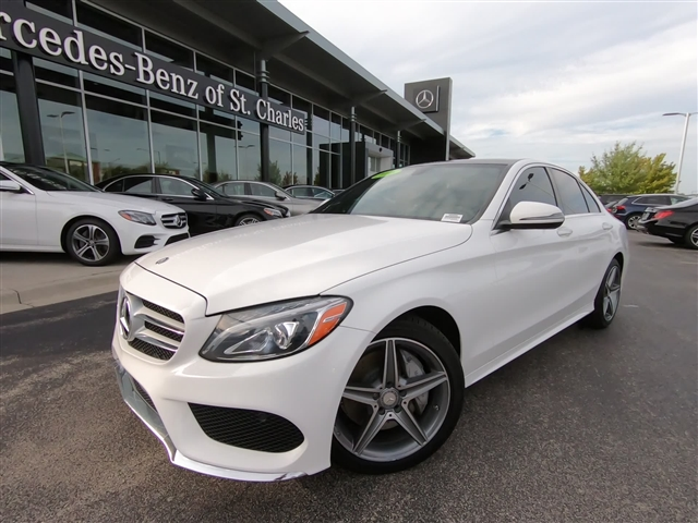 Certified Pre-Owned 2016 Mercedes-Benz C-Class 4DR SDN C300 4MAT