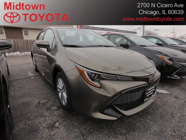New 2020 Toyota Corolla Hatchback 5DR HATCHBACK 6SPD M