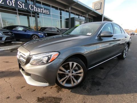 Certified Pre-Owned 2017 Mercedes-Benz C-Class 4DR SDN C300 4MAT